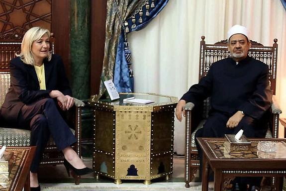 Неожиданная встреча. Зачем Марин Ле Пен приехала в Аль-Азхар?