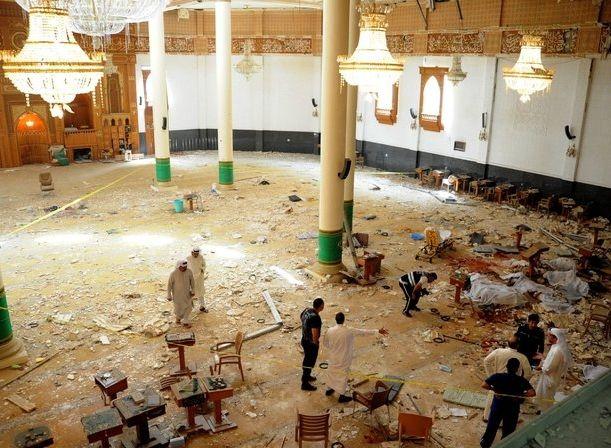 Кадр с места трагедии в Кувейте