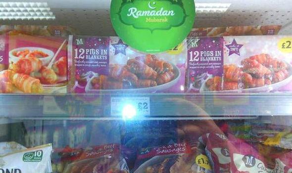 Свинина на витрине к Рамадану – случайность или провокация?