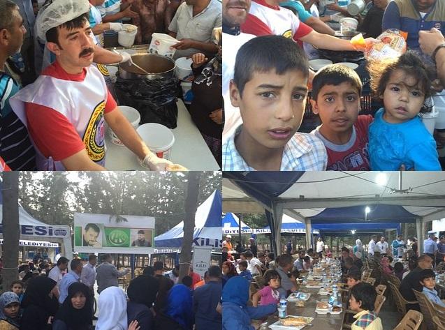 Кадыров организовал в лагере сирийских беженцев «Шатер Рамадана»
