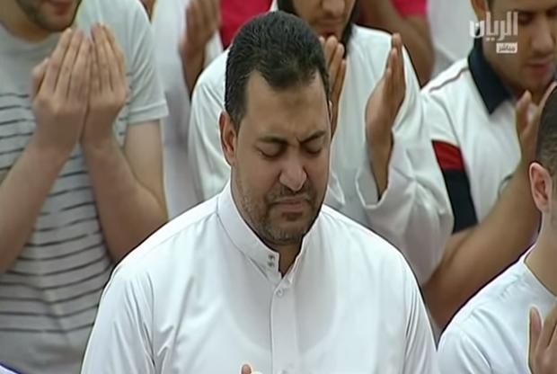Таравих в Катаре 8 рамадана