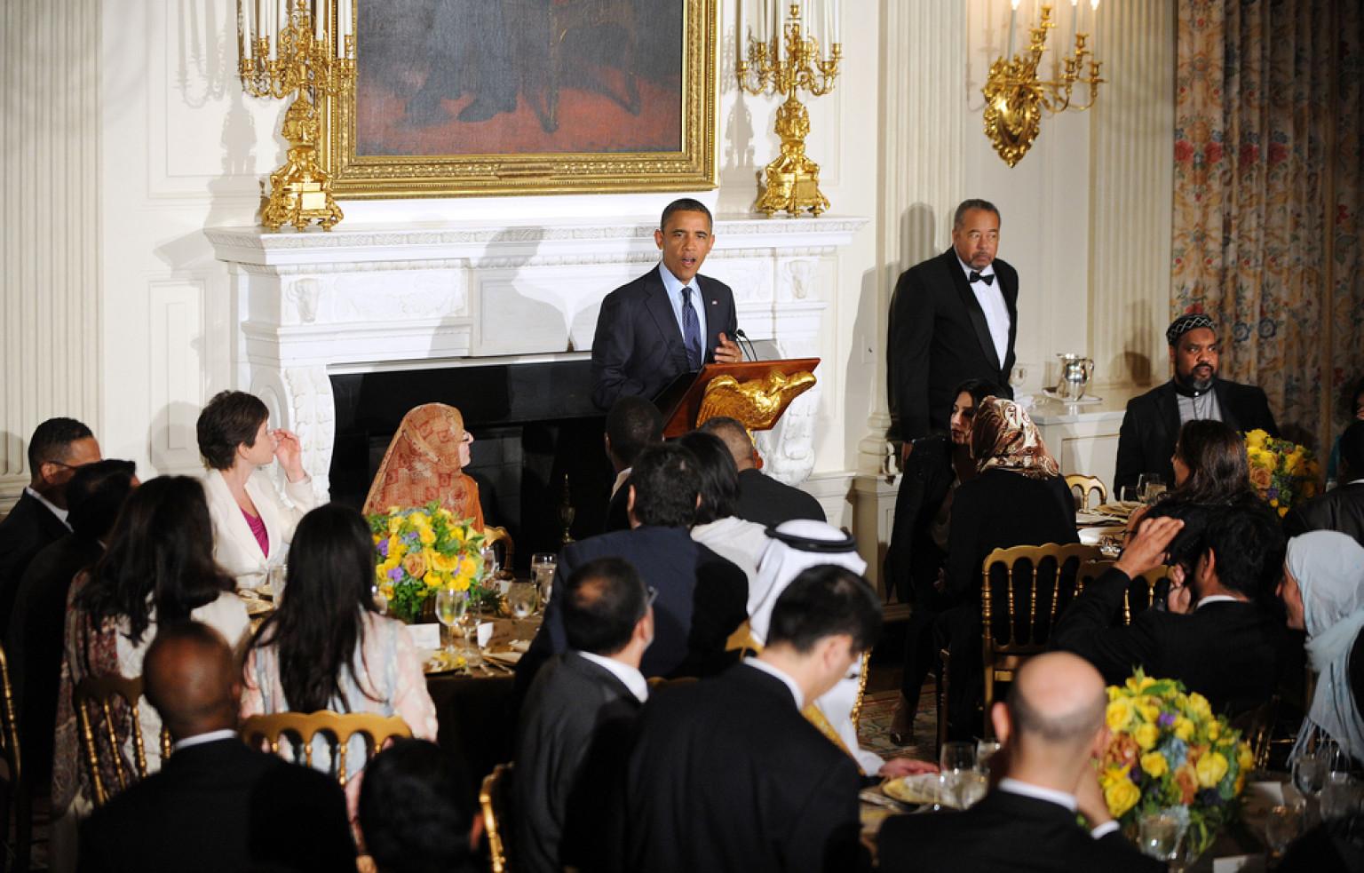 О чем поведал Обама на торжественном ифтаре в Белом доме