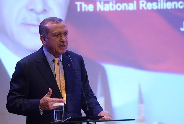 Выступление Реджеп Тайип Эрдогана в Институте национальной безопасности в Джакарте