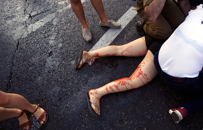 Иудей изрезал ножом геев на параде