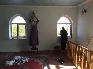 Мечеть готовят к Курбан-байраму