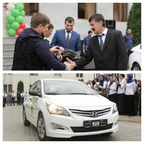 Кадыров запустил социальное такси