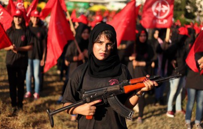 Прекрасная половина палестинского сопротивления (Фотогалерея)