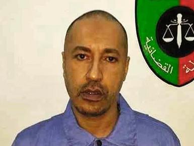 Избиение сына Каддафи в тюрьме попало на видео (18+)