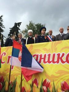 Рушан Аббясов на праздничном мероприятии в Ногинске