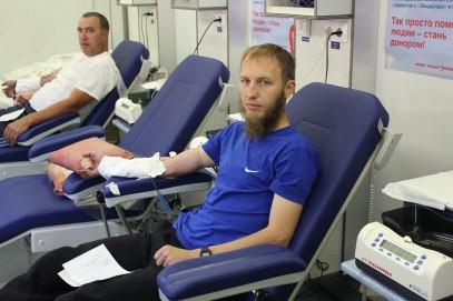 Мусульмане Ульяновска пожертвовали кровь детям