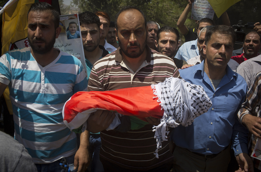 Похороны малыша Али (Фото: Oren Ziv/Getty Images)
