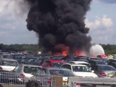 Таинственный взрыв убил семью бен Ладена в Британии (ВИДЕО)