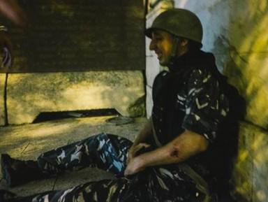 Плачущий спецназовец вызвал умиление арабов