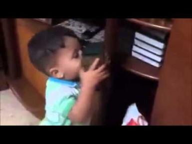 Редкое видео сожженного израильтянами палестинского ребенка (ВИДЕО)