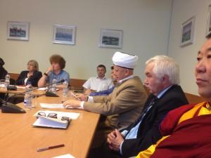 Альбир Крганов на заседании Межрелигиозного совета