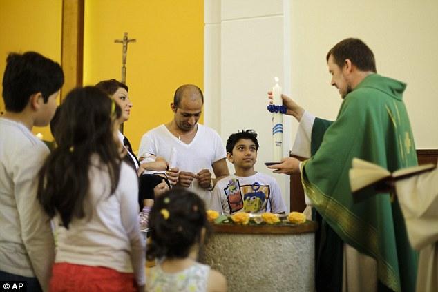 Процедура крещения