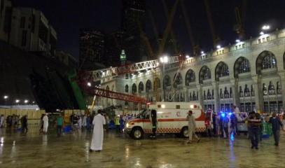 Число жертв в главной мечети ислама возросло до 107 человек