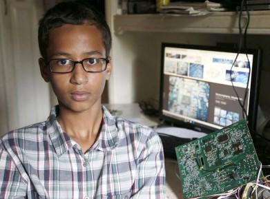 14-летний мусульманин сделал «бомбу», школа вызвала спецназ