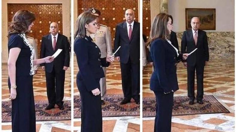 Женщины-министры приносят присягу