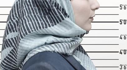 Мусульманку раздел полицейский, дело передано в суд