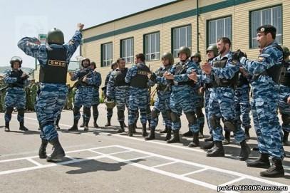 Чеченский ОМОН шокировал МВД России