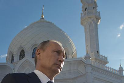 Путин: Открытие Соборной мечети Москвы – большое событие