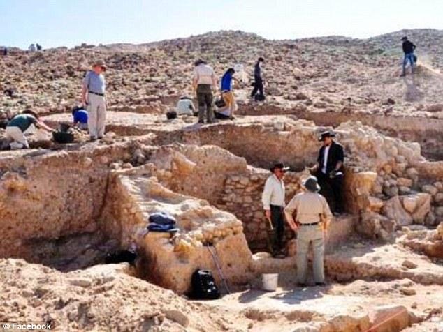На раскопках Содома и Гоморры