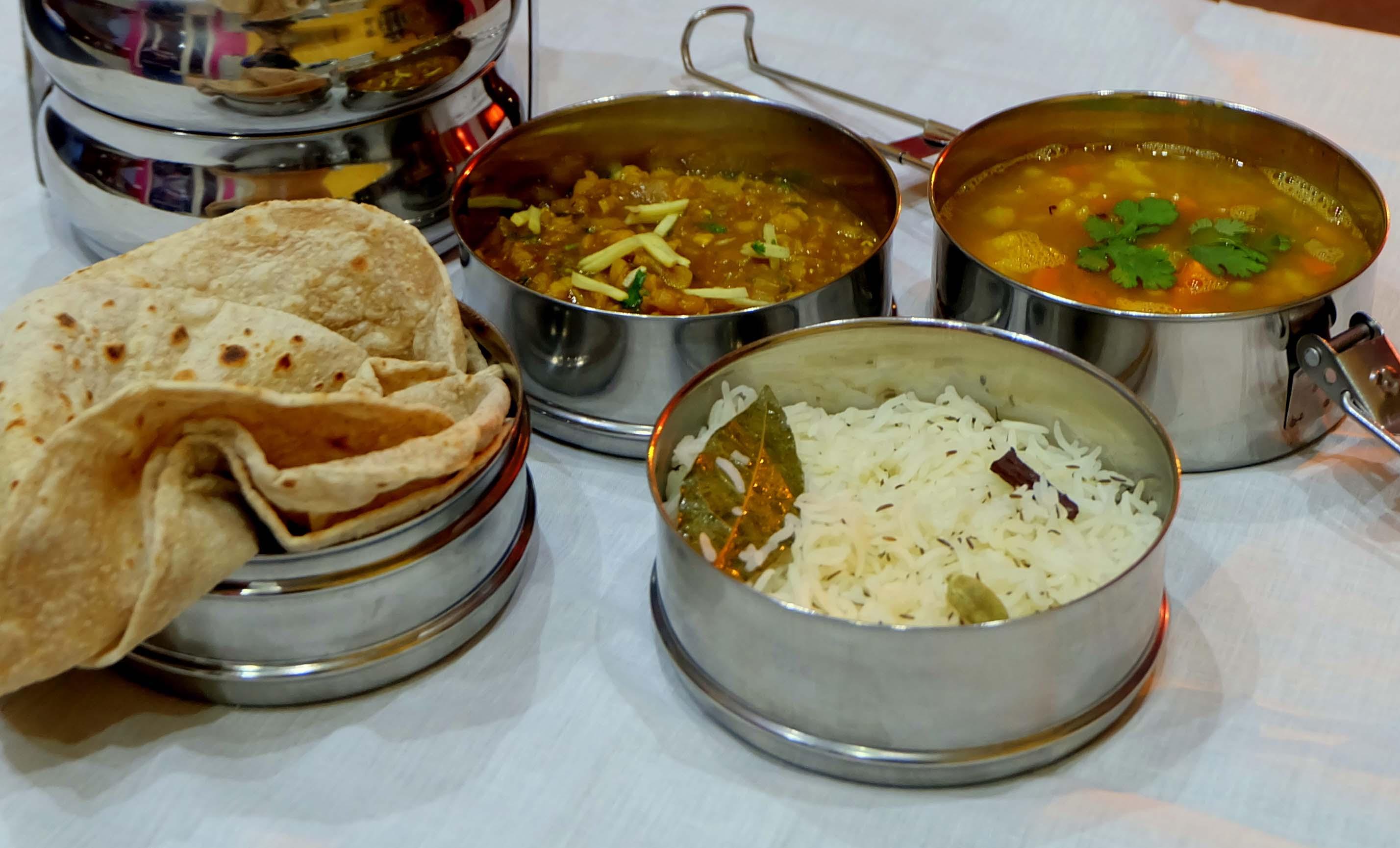 Индийский обед