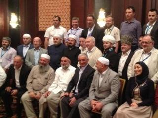 Российская делегация на IV сессии Ассамблеи Всемирного союза мусульманских ученых