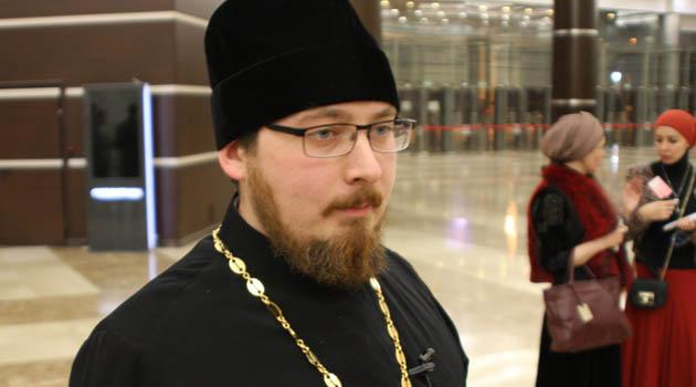 Священник Роман Багдасаров