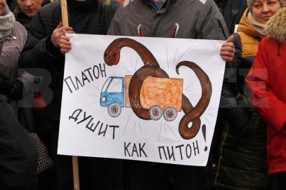 «Платон» объединил русских и кавказских дальнобойщиков