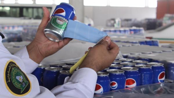 В Саудовской Аравии задержана большая партия «Пепси-колы» с пивом