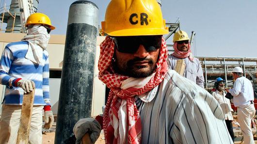 Саудовские рабочие