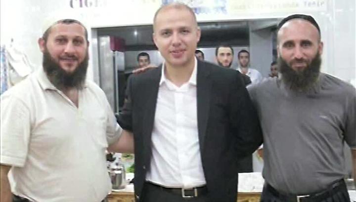 Сын президента Турции Билял с владельцами турецкого общепита
