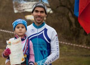 Ринат Баткаев с дочерью