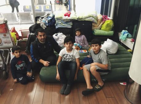 «С сирийскими беженцами из Шереметьево произошло чудо»