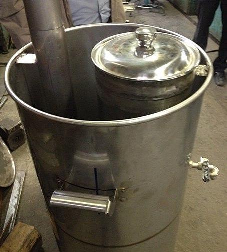 Челябинский муфтий изобрел 100-литровый аппарат для мусульманских праздников