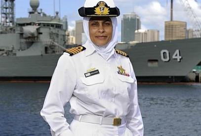 Хиджаб – не помеха блестящей военной карьере