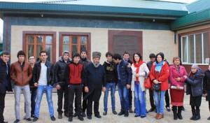 Муфтий Рахимов с гостями из центра реабилитации