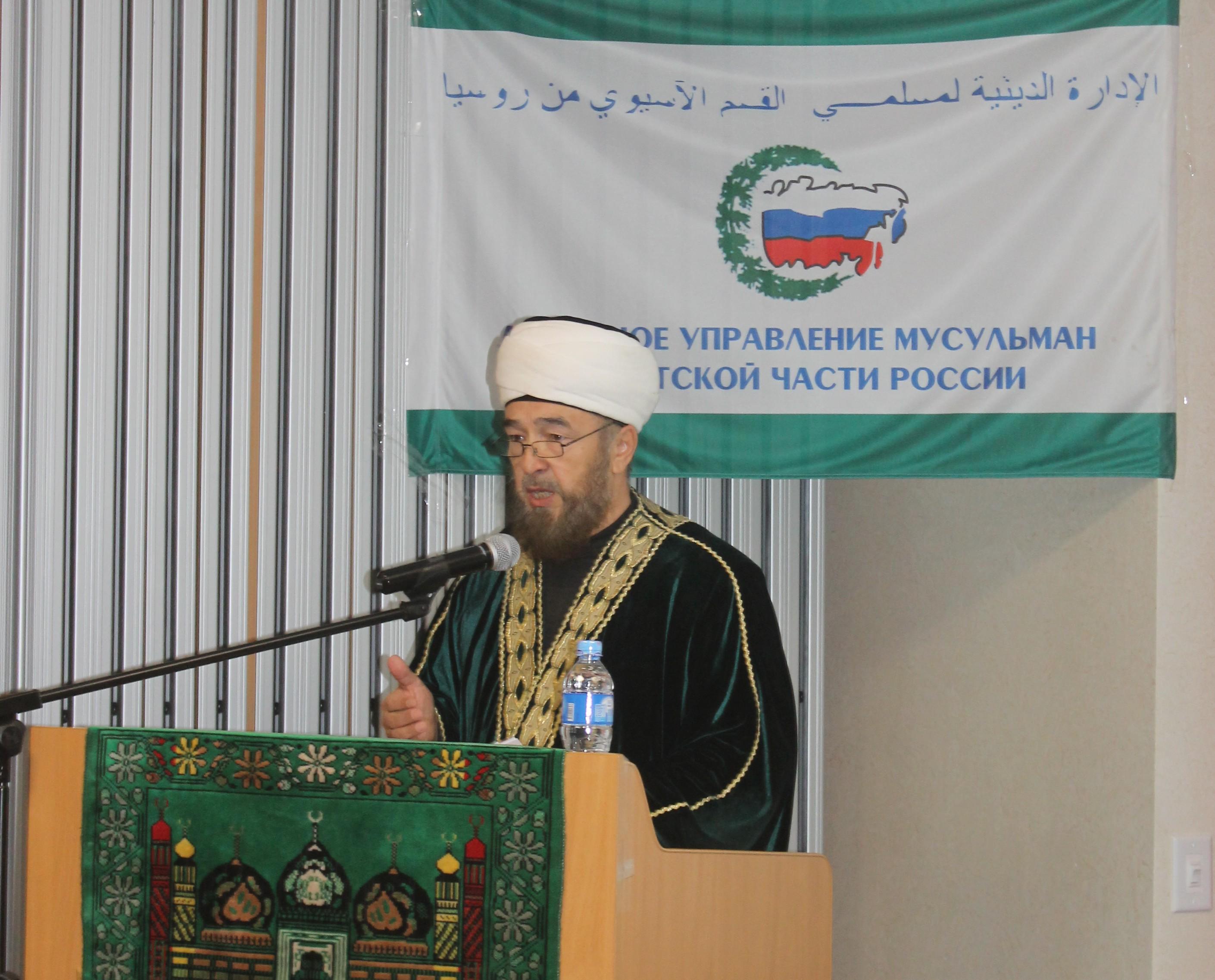 Муфтий Нафигулла Аширов воздержался  от своей должности