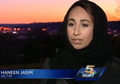 Мусульманка чудом спаслась от смерти под колесами исламофоба