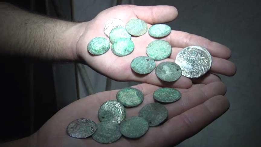 В Палестине обнаружены монеты Османского периода