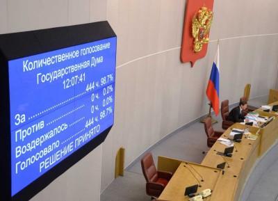 Госдума приняла закон Путина, защищающий писания от «судей-шайтанов»