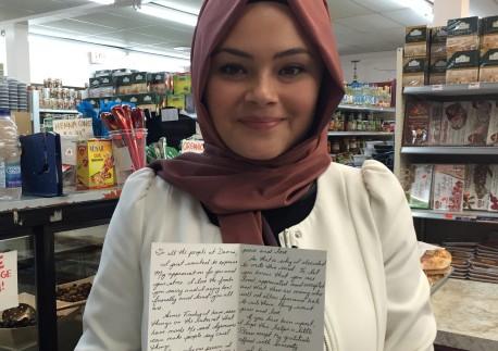 Мусульманку потрясли слова незнакомой женщины после терактов