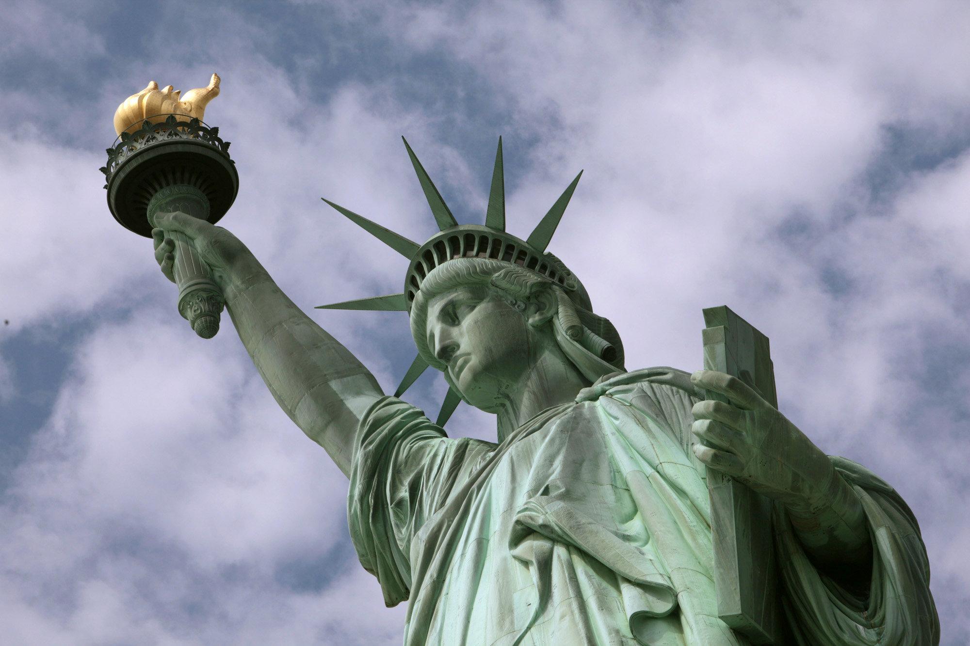 Американской Статуей Свободы оказалась египтянка