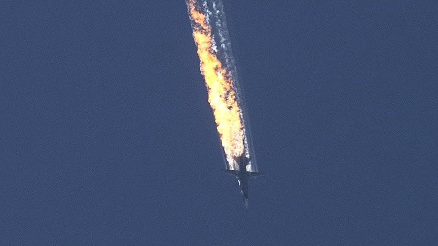 На сирийско-турецкой границе сбит российский бомбардировщик