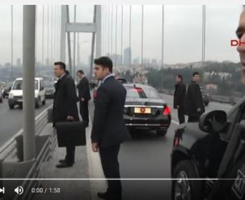 Президент Турции спас самоубийцу (ВИДЕО)