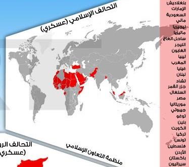 Страны Исламской военной коалиции