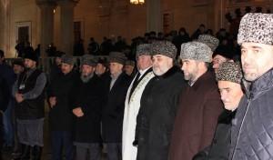 Муфтии Северного Кавказа на празднике в Чечне
