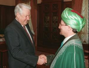 Верховным муфтием России Таджуддин стал еще при президенте Ельцине